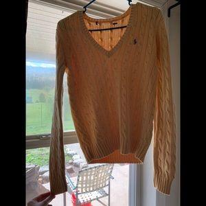 Polo Ralph Lauren medium yellow sweater